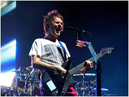 Muse's Matt Belamy