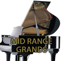 Mid Range grand pianos