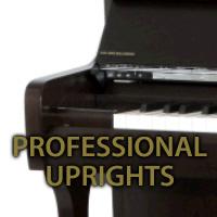 Professional Upright pianos