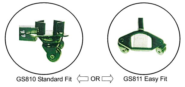 Standard fit A frame vs Easy fit A frame