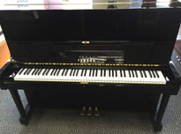 Yamaha U1 Black Upright Piano