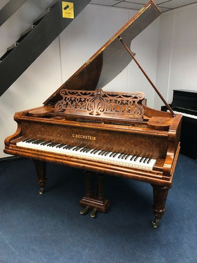 Bechstein Model V Burr Walnut Grand Piano