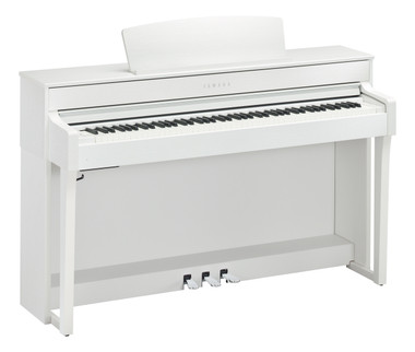 Yamaha CLP645WH White Satin Clavinova Digital Piano