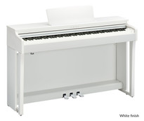Yamaha CLP635 White Satin Digital Piano