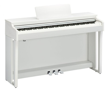 Yamaha CLP675 White Satin Digital Piano