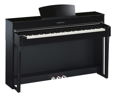 Yamaha CLP675 Polished Ebony Digital Piano