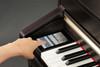 Kawai CA97 Digital Piano Satin White Touch Screen
