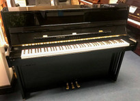 Yamaha RD1 Black Polyester Upright Piano