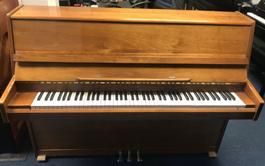 Niemeyer Cherry Polyester Upright Piano