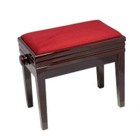 Solo Adjustable Piano Stool with Storage