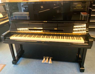Certified Reconditioned Yamaha U3 Polished Ebony Upright Piano