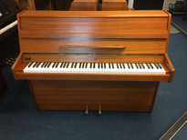 Kemble Classic Teak Satin Upright Piano
