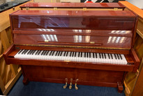 Mulheim 115 Walnut Satin Upright Piano