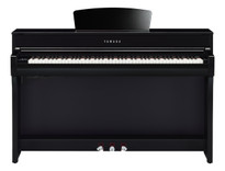 Yamaha CLP735PE Polished Ebony Clavinova Digital Piano
