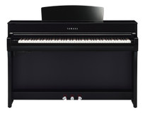 Yamaha CLP745PE Polished Ebony Clavinova Digital Piano