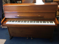Knight York Walnut Satin Upright Piano