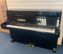 Royale RS11 Black Polyester Upright Piano