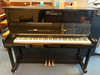 May Berlin M121T Black Polyester Upright Piano