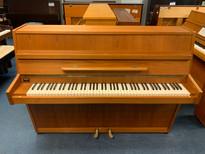 Zimmerman 111V Teak Satin Upright Piano