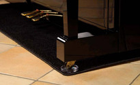 Piano Carpet - protects upright pianos from under floor heating