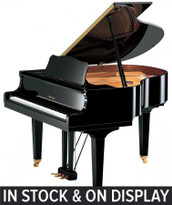 Yamaha GB1K Grand Piano in stock and on display in our Cobham Showroom