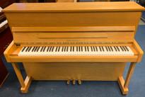 Pre-owned Reid Sohn RS115 Light Oak Upright Piano