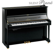 Yamaha U1SH silent upright piano from www.SheargoldMusic.co.uk