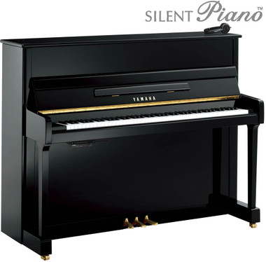 Yamaha P116SH Silent Upright Piano from www.SheargoldMusic.co.uk