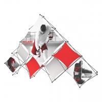 Xclaim Quad Pyramid Display Kits