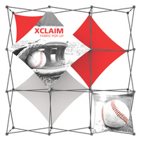 Xclaim™ Fabric Popup Displays