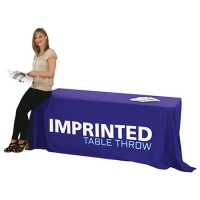 Imprinted Table Throws and Covers
