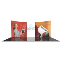 Formulate 10x20 Fabric Displays