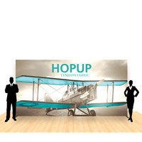 15ft x 8ft Hop Up Back Wall Straight Display (6x3)