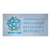 2' x 4' 10 oz. Vinyl Single-Sided Banner