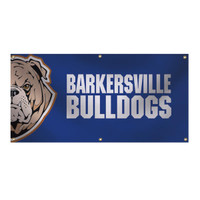 2' x 4' 13 oz. Smooth Vinyl Single-Sided Interior Banner