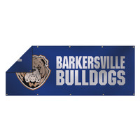 3' x 8' 13 oz. Smooth Vinyl Double-Sided Banner