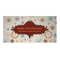 2' x 4' 13 oz. Vinyl Single-Sided Banner