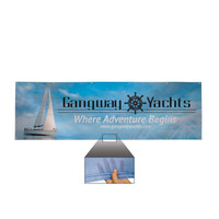 3' x 10' 9 oz. Mesh Vinyl Single-Sided Banner