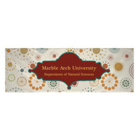 2' x 6' 13 oz. Scrim Vinyl Single-Sided Banner