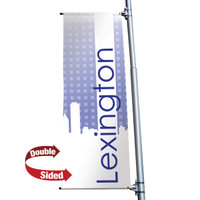 "24"" x 60"" 18 oz. Double Sided Boulevard Banner"