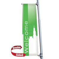 "24"" x 72"" 18 oz. Double Sided Boulevard Banner"