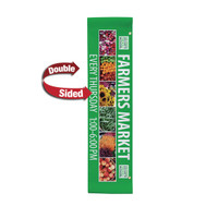 "24"" x 96"" 18 oz. Double Sided Boulevard Banner"