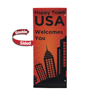 "30"" x 72"" 18 oz. Double Sided Boulevard Banner"