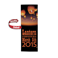 "30"" x 84"" 18 oz. Double Sided Boulevard Banner"