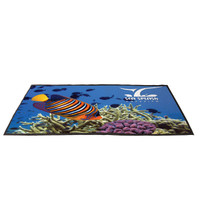 4' X 6' Outdoor Floor Hugger Mat Imprinted
