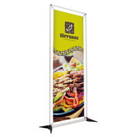 "27.5"" x 75"" FrameWorx Banner Kit Double-Sided"