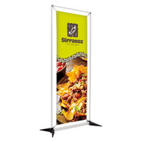 "27.5"" x 75"" FrameWorx Banner Kit Single-Sided"