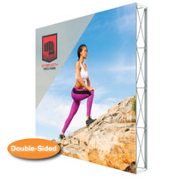 Lumiere Light Wall 10 Ft. X 10 Ft. No Lights - Double-Sided Graphic Package