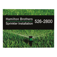 """24"""" x 18"""" Corrugated Plastic Sign (1-Sided)"""