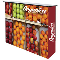 Ready Pop Counter Fabric Display